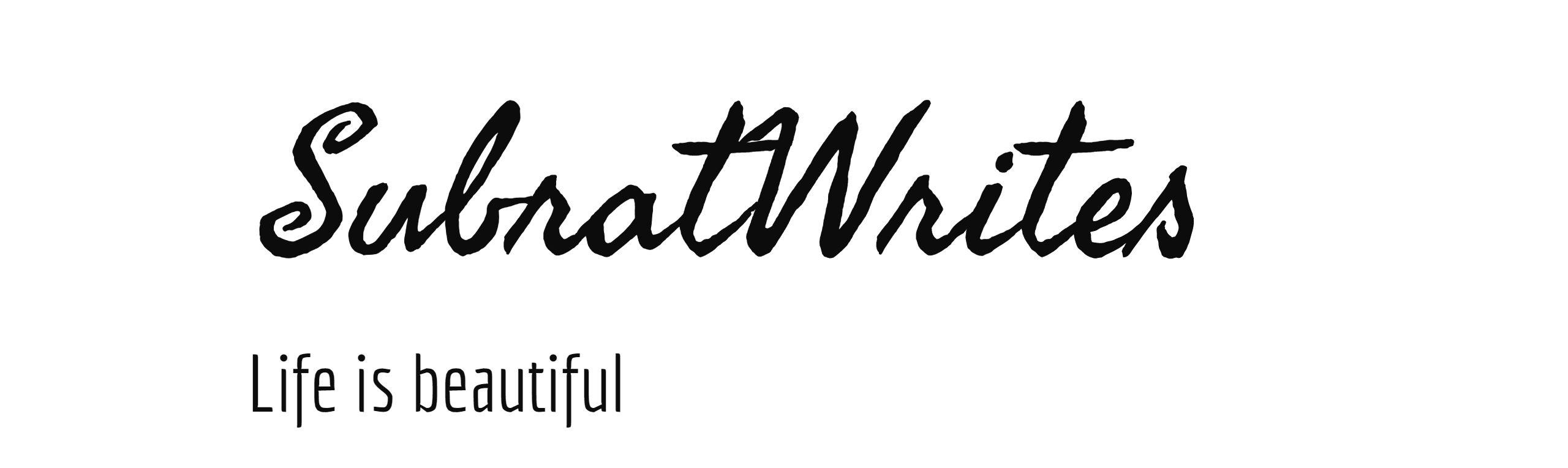 SubratWrites.com