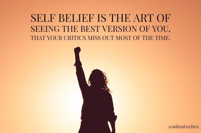 Self belief
